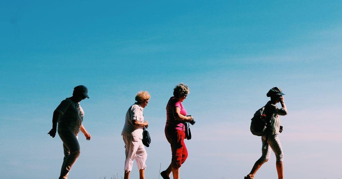 Seniors en randonnée